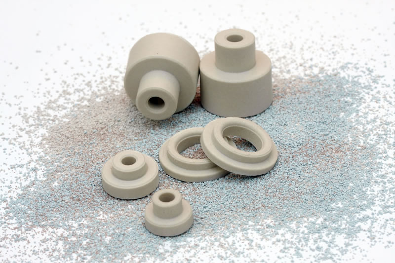 Steatite Ceramic Shoulder Bushings Du Co Ceramics